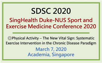 SDSC (SingHealth Duke-NUS Sport and Exercise Medicine Conference) 2020